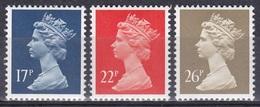 Großbritannien Great Britain England 1990 Perönlichkeiten Königshäuser Royals Königin Elisabeth II. Queen, Mi. 1284-6 ** - Ungebraucht