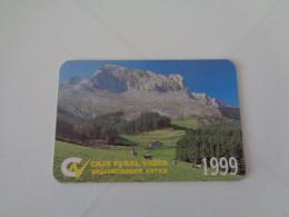 Bank/Banque/Banco Caja Rural De Granada España Spain Spanish Pocket Calendar 2011 - Calendriers