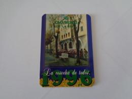 Bank/Banque/Banco Caixa Ontinyent  España Spain Spanish Pocket Calendar 2002 - Calendriers