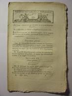 BULLETIN DES LOIS DE MESSIDOR AN XII (JUIN 1800) - FONCTIONS DU PREFET DE POLICE - EMIGRES CHOUANS - Décrets & Lois