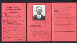 1914-1918 Vuurkaart - 1914-18