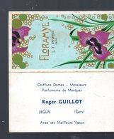 Jegun (32 Gers) Carte Parfumée /  Calendrier 1974 Parfum FLORAMYE  (PPP17091) - Calendriers