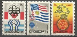 Uruguay,Philatelic Exhibitions 1976.,MNH - Uruguay