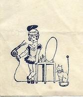 Lettre 1938 / NANCY / CALOR / Appareils De Chauffage Par L'électricité / Sèche-cheveux / Chat - France