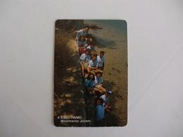 Scouts Setúbal Portugal Portuguese Pocket Calendar 1989 - Calendriers