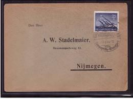 Deutsches Reich 884 Brief Einzelfrankatur EF Wehrmacht II 25 Pfennig (21809) - Briefe U. Dokumente