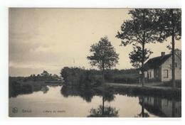 Genk Genck  L'étang Du Moulin 1910 - Genk
