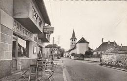 Carte Postale Des Années 50-60 De Savoie - Novalaise - L'entrée Du Village - Devanture De Magasin - Francia