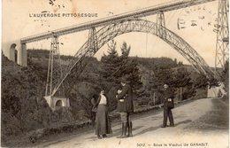 Sous Le Viaduc De GARABIT - France