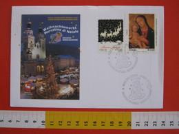 A.07 ITALIA ANNULLO - 2011 BRESSANONE BRIXEN BOLZANO NATALE FESTA ANGELO ANGIOLETTO RENNE MADONNA - Natale