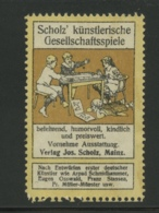 Scholz' Künstlerische Gesellschaftsspiele - Mainz - Scholz - Erinnophilie