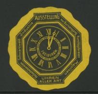Freiburg - Ausstellung - Nur Bursengang - Uhren Aller Art - Erinnophilie