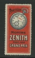 Montre Zenith - Paris 1900 Grand Prix - Erinnophilie