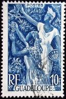 Guadeloupe 4 Valeurs Diverses Oblitérés 4 Scans - Oblitérés