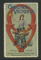 Original Victoria - Mundlos Magdeburg - Nähmaschinenfabrik - Erinnophilie