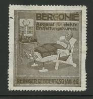 Bergonié - Apparat Für Elektr Entfettungskuren - Reiniger Gebbert - Erinnophilie