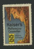 Kaiser's Pfeffermünz-Caramellen - Erinnophilie