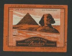 Chaocolats Fins - Montreux Zurcher - Les Pyramides - Erinnophilie