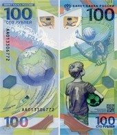 RUSSIA       100 Rublej       Comm.      P-New       2018       UNC - Russia