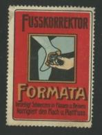 Fusskorrektor Formata - Erinnophilie