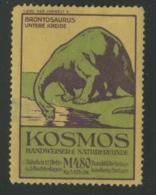 Kosmos Handweiser Für Naturfreunde - Brontosaurus Untere Kreide - Erinnophilie