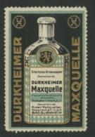 Durkheimer Maxquelle - Arsenwasser - Arsen Heilquellen Gesellschaft - Bad Durkheim - Erinnophilie