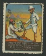 Infoffen's Baren-Kaffee - P.H. Inhoffen - Bonn-Berlin - Bohnenkaffee - Erinnophilie