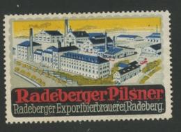 Radeberger Pilsner - Radeberger Exportbierbrauerei Radeberg - Erinnophilie