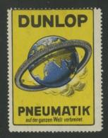 Dunlop Pneumatik - Auf Der Ganzen Welt Verbreitet - Erinnophilie