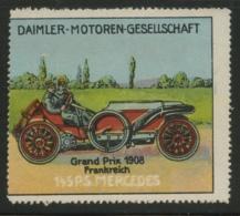 Daimler-Motoren-Gesellschaft - Grand Prix 1908 Frankreich - 145 P.S. Mercedes - Erinnophilie