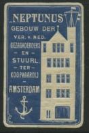 Neptunus - Gebouw Der Vereniging Van Nederlandse Gezagvoerders En Stuurlui Ter Koopvaardij Amsterdam - Erinnophilie