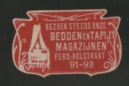 Bezoek Steeds Onze Bedden En Tapijt Magazijnen - Ferd Bolstraat 91-93 - Erinnophilie