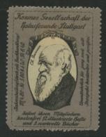 Kosmos Gesellschaft Der Naturfreunde Stuttgart - Charles Darwin - Erinnophilie