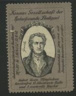 Kosmos Gesellschaft Der Naturfreunde Stuttgart - Goethe - Erinnophilie