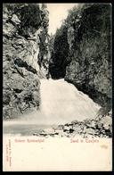 Sand In Taufers, Campo Tures, Unterer Reinbachfall, Vor 1905, Pustertal, Südtirol, Stengel & Co.,2799 - Bolzano (Bozen)