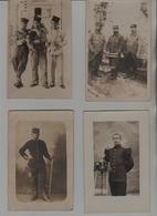 Militaria 100 Cartes-photo De Militaires Groupes Ou Individalités Entre Environ 1900 Et 1920 + 10 Doubles - Personnages