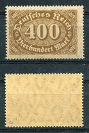 Deutsches Reich Michel-Nr. 222a Postfrisch - Geprüft - Nuovi