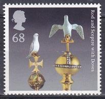 Großbritannien Great Britain England 2011 Geschichte History Königshäuser Royals Kronjuwelen Zepter Taube, Mi. 3128 ** - 1952-.... (Elizabeth II)