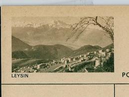 Carte Illustré Neuve N° 182 - 0234 D  -  LEYSIN (Zumstein 2009) - Entiers Postaux