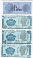 B 137 - VENEZUELA Lot De 4 Billets  état Neuf 1er Choix - Venezuela