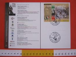 A.99 ITALIA ANNULLO - 2011 OROPA BIELLA BIELLESI TESSITORI UNITA' QUINTINO SELLA SCIENZIATO MONTAGNA CAI C.A.I. SENATORE - Tessili