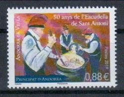 Andorra Frz. Post 'Escudelles De Sant Antoni (Wintersuppen-Fest)' / Andorra, French 'Winter Stew Festival' **/MNH 2019 - Feste