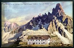 Drei Zinnenhütte, Rifugio Antonio Locatelli , Um 1915, Sextner Dolomiten, Pustertal, Südtirol, Werth 955, Toblach,Hütte - Bolzano (Bozen)
