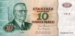 Finland 10 Markkaa, P-112 (1980) - Very Fine - Litt A - Finnland