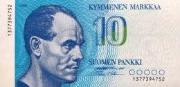 Finland 10 Markkaa, P-113 (1986) - UNC - Finnland
