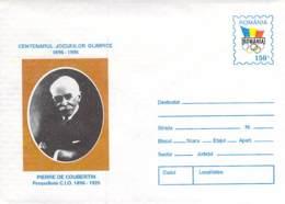 Pierre De Coubertin Cod 113/96 - Maximum Cards & Covers