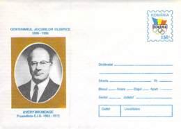 Avery Brundage Cod 116/96 - Maximum Cards & Covers