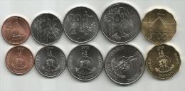 Vanuatu Set Of 5 Coins 2015. UNC - Vanuatu
