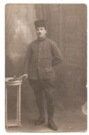 Soldat Français Du 5e Régiment Infanterie Coloniale ? -Photographe- Buzdugan (FOTO-SPLENDID) Bucarest - Roumanie (1919). - Personen