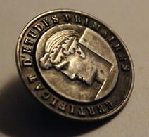 Insigne Broche Médaille Certificat D'études Primaires école - Autres Collections